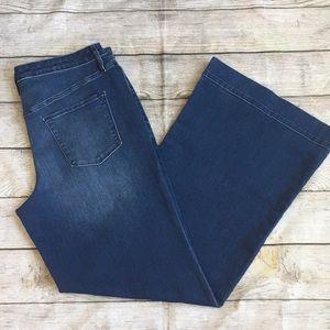 Mossimo High Rise Wide Leg Jean